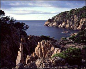 Costa Brava, Cap de Begur am Morgen